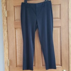 Michael Kors black Ponte pants, sz 14